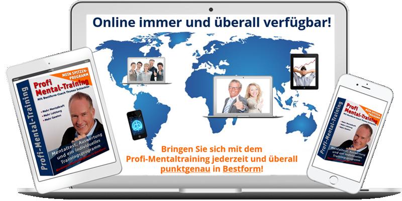 Profi-Mentaltraining - Online Mentaltraining von Thomas Schlechter