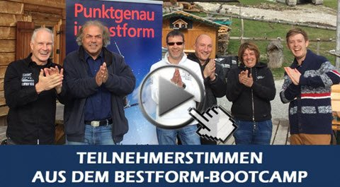 Bestform Bootcamp - 1 Tag intensives Mentaltraining