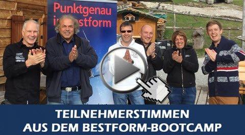 Bestform Bootcamp - 1 Tag intensives Mentaltraining