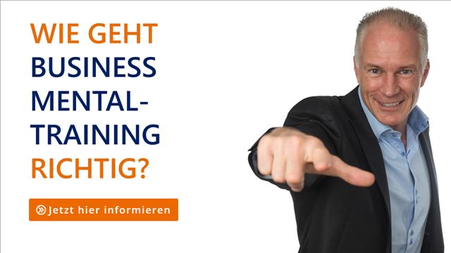 Business Mentaltraining - Übungen mit Thomas Schlechter für Ihre Bestform