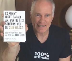 Paul Arden Taschenbuch - Es kommt nicht darauf an, wer Du bist, sondern wer Du sein willst