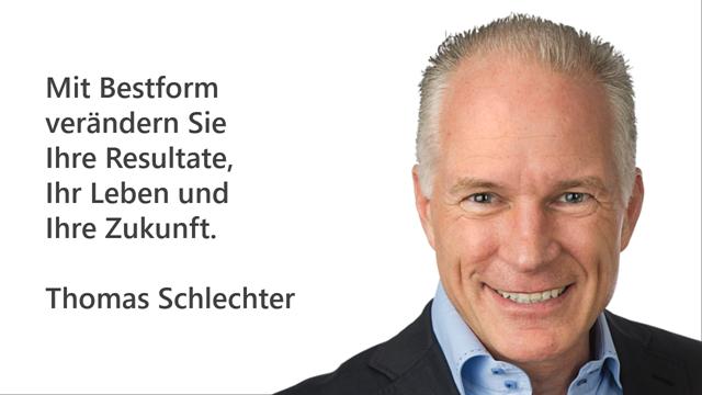Thomas Schlechter - Experte für punktgenaue Bestform durch Mentaltraining