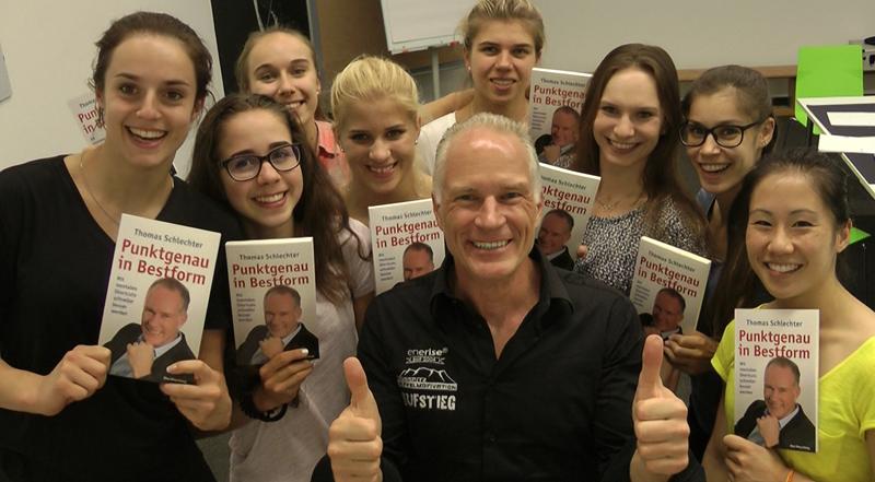 Mentaltraining mit Thomas für die deutschen Turnerinnen zur Vorbereitung auf die Olympiade 2017 in Rio