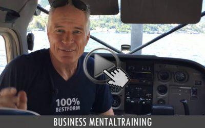 Business Mentaltraining: Der perfekte Flug