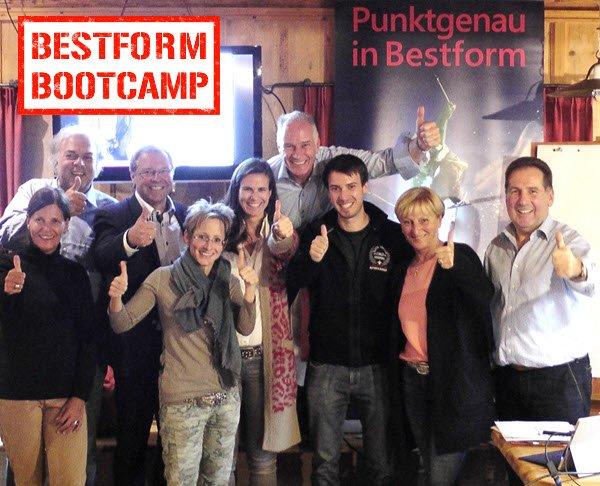 Bestform Bootcamp - Mentaltraining der Spitzenklasse