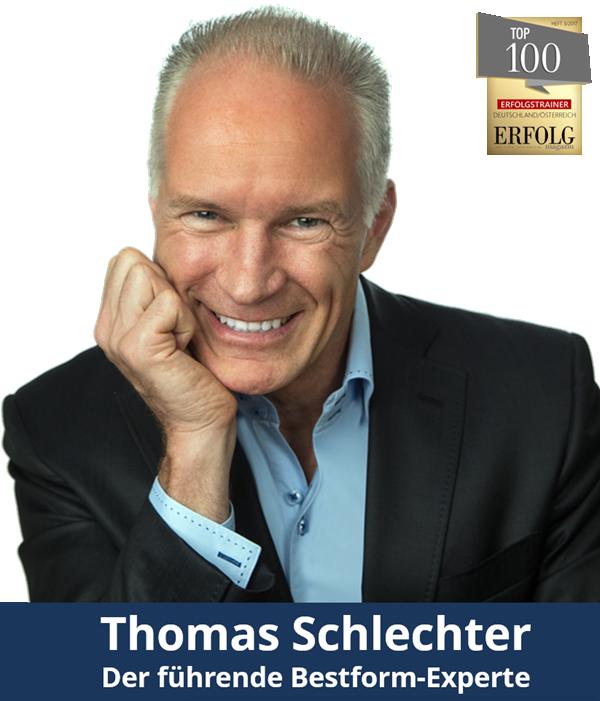 Thomas Schlechter - Der führende Bestform-Experte