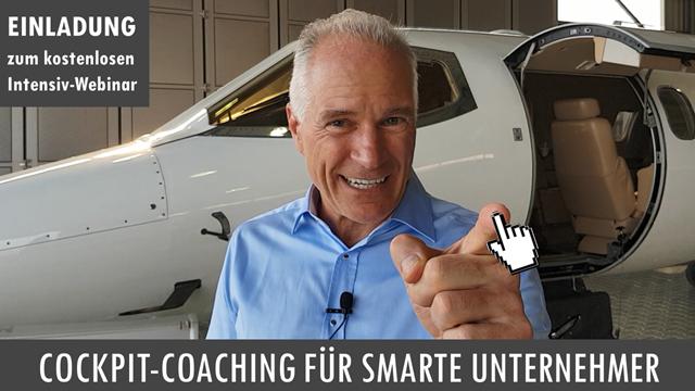 Intensiv-Webinar Cockpit-Coaching für smarte Unternehmer mit Thomas Schlechter