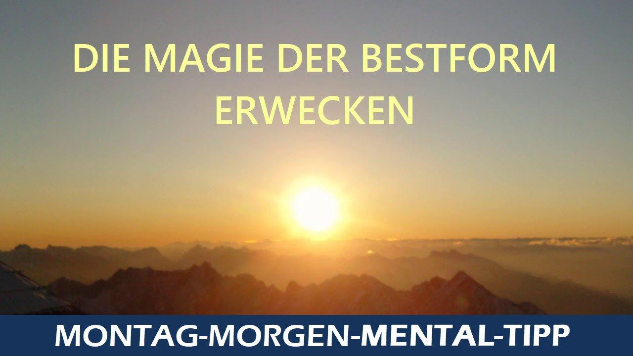 Die Magie der Bestform erwecken - Mentaltraining mit Thomas Schlechter