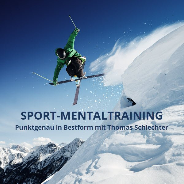 Sport Mental Training Skiläufer Fotolia