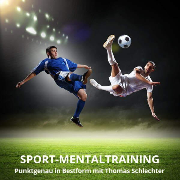Sport Mental Training im Fußball - Fotolia