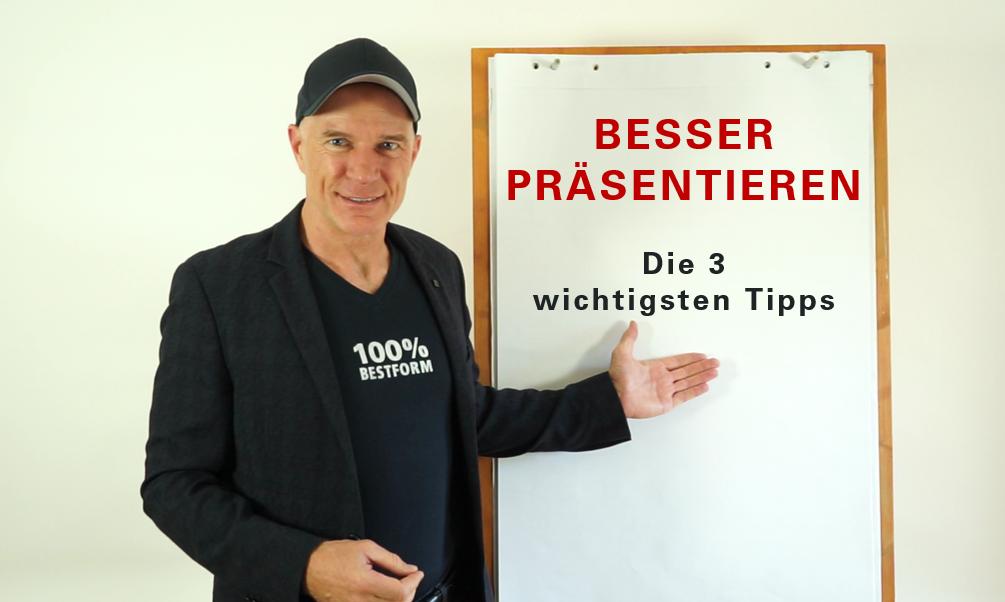 Besser präsentieren, die 3 wichtigsten Tipps