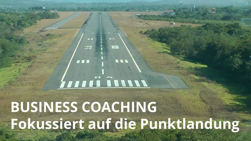 Business Coaching mit klaren Zielen