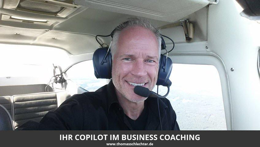 Mehr Erfolg durch Business Coaching mit Thomas Schlechter