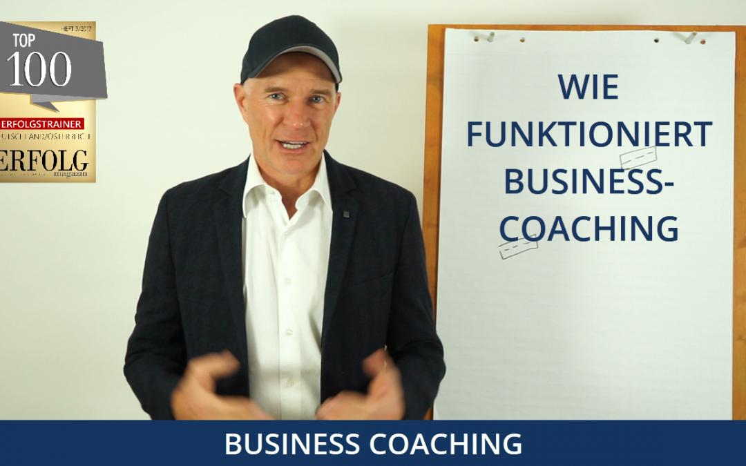 Wie funktioniert Business-Coaching?